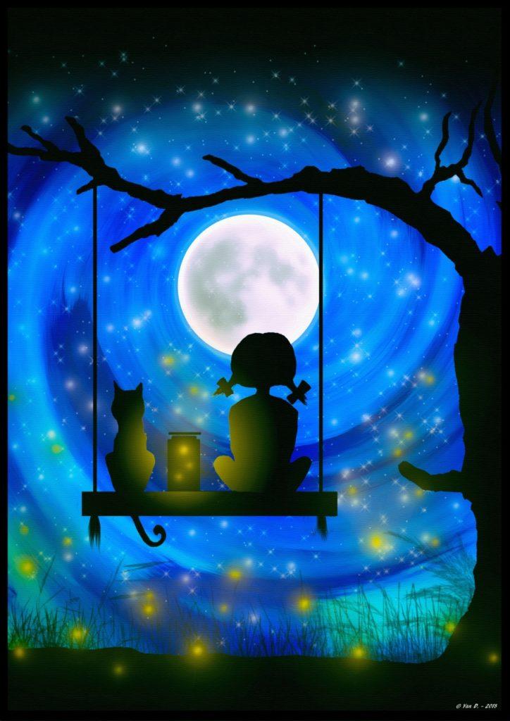 Songes sous la lune