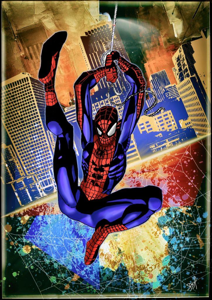 Spiderman En action
